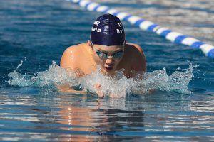 Neuen Vereinsrekord geschwommen