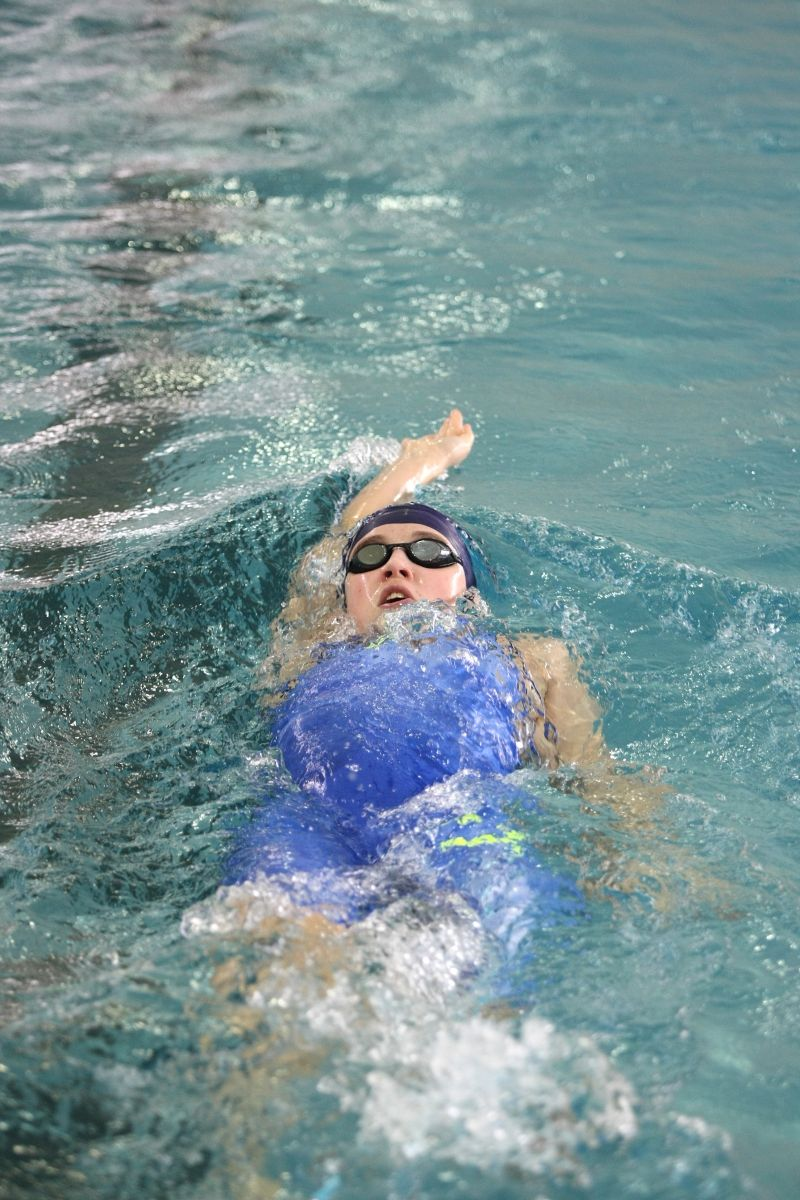 Schwimmer des TSV 1860 Rosenheim unterwegs in Erlangen
